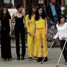 Nakrúcanie-klipu-Veselé,-Pobedim-2003